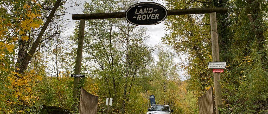 """Release Brake, Steer, Smile!"" - Land Rover Experience Center in Wülfrath 45"
