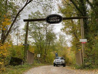 """Release Brake, Steer, Smile!"" - Land Rover Experience Center in Wülfrath 72"