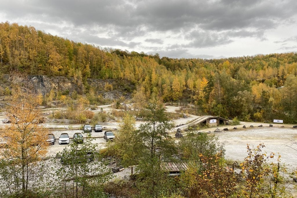 """Release Brake, Steer, Smile!"" - Land Rover Experience Center in Wülfrath 3"