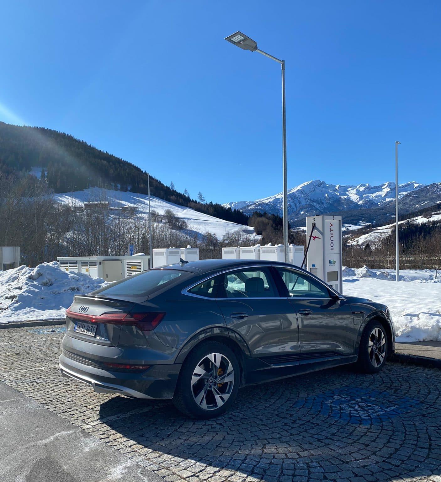 Audi-etron experience report