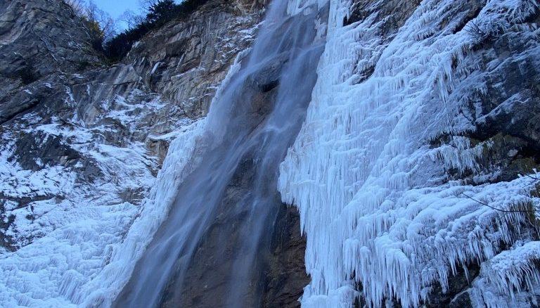 To the hidden waterfall Skakavac 53